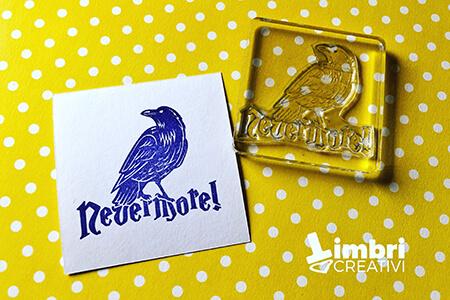 Never more! - Misura timbrata: 50*45 mm - 20€